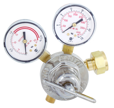 Miller | Smith Series 30 Acetylene Regulator - CGA 520