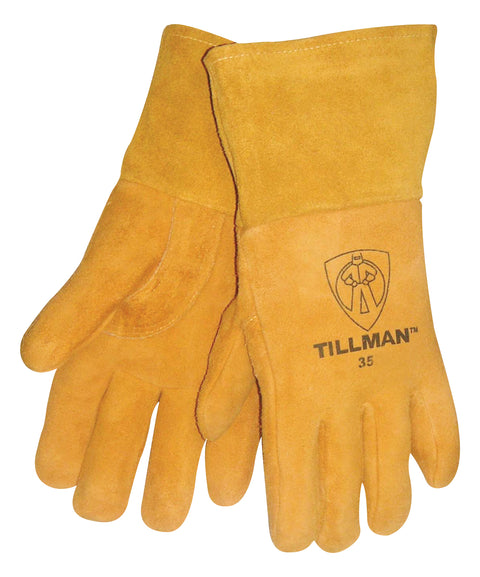 Tillman Heavyweight Reverse Deerskin MIG Welding Gloves - 35