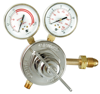Miller | Smith Heavy Duty Acetylene Regulator - CGA 510