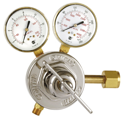Miller | Smith Heavy Duty Oxygen Regulator - CGA 540