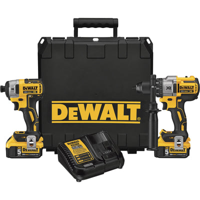 DEWALT Cordless Brushless Hammer Drill and Impact Driver