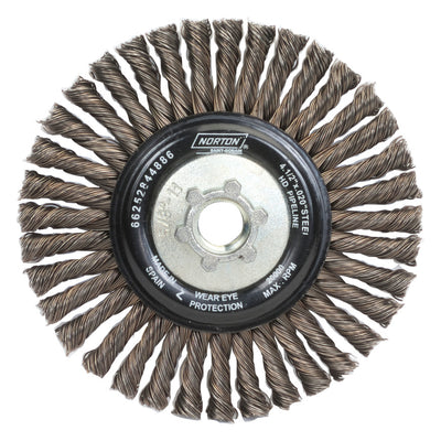 Norton BlueFire Heavy Duty Wire Wheel, 4 1/2""