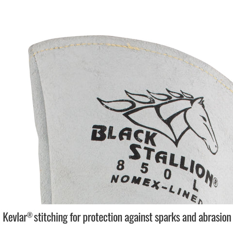 Black Stallion FR Nomex® Lined Elkskin Premium Stick Welding Gloves
