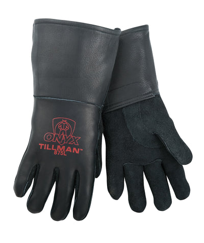 Tillman Onyx Top Grain Elkskin Welding Gloves - 875