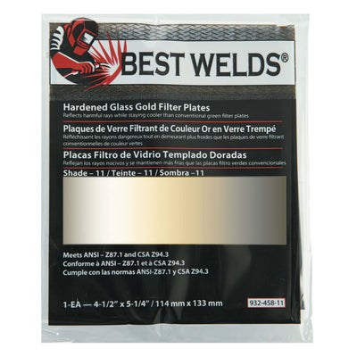 Best Welds Gold Coated Polycarbonate Lense