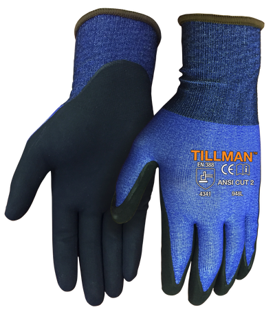 Tillman Ultra-Thin 18 Gauge ANSI A2 Cut Resistant Gloves - 948