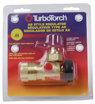 TurboTorch AR-B Acetylene Regulator - (0386-0725)