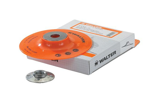 "Walter Backing Pads 4-1/2"" x 5/8""-11"