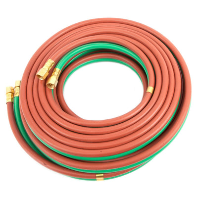 "Best Welds 1/4"" BB Grade 'T' Twin Oxy-Fuel Hose 25'"