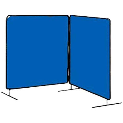 Tillman 6' x 6' Snap & Lock Welding Screen - Single Panel - Blue Vinyl