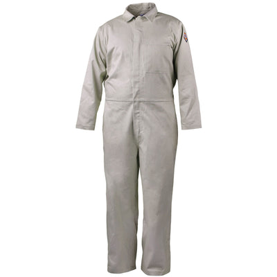 Black Stallion NFPA 2112 7 oz. FR Cotton Coverall, Stone Khaki