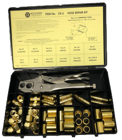 Western Enterprises Hose Repair Kit CK-6