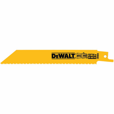 DEWALT  Straight Back Bi-Metal Reciprocating Blade