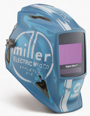 Miller Digital Elite Auto Darkening Welding Helmet Vintage Roadster