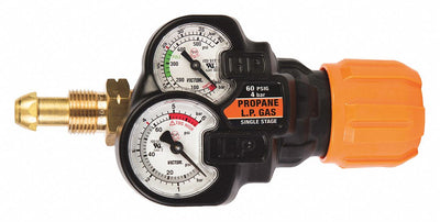 Victor EDGE™ 2.0 Propane/Natural Gas Regulator  - CGA 510LP (ESS32-60-510LP)
