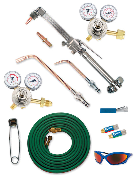 Miller | Smith Medium Duty Cutting/Welding/Heating Outfit - CGA 510