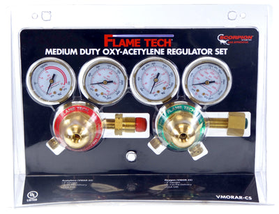 Flame Tech Medium Duty Oxygen & Acetylene Regulator