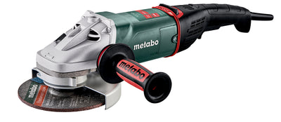 "Metabo 7"" Angle Grinder - 8,450 RPM - 15.0 AMP w/Brake, Non-Lock Paddle, Electronics WEPB 24-180 MVT - 606478420"