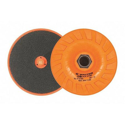 "Walter QUICK-STEP™ Backing Pads 4-1/2"" x 5/8""-11"