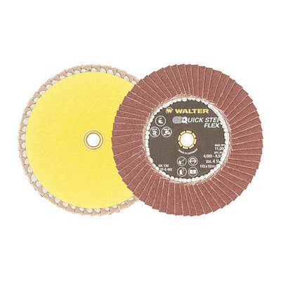 "Walter QUICK-STEP™ FLEX Finishing Disc 4-1/2"" GR: 120"
