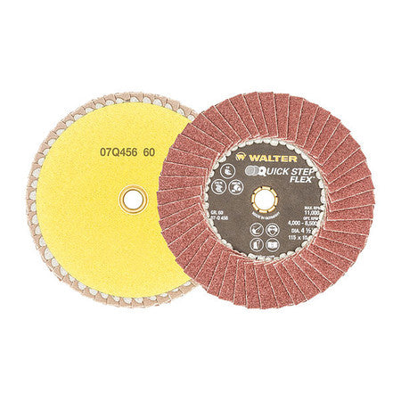 "Walter QUICK-STEP™ FLEX Finishing Disc 4-1/2"" GR: 60"