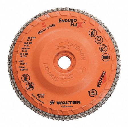 "Walter Blending Disc 4-1/2"" x 5/8""-11 GR: 40"