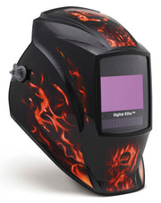 Miller Digital Elite Auto Darkening Welding Helmet Inferno
