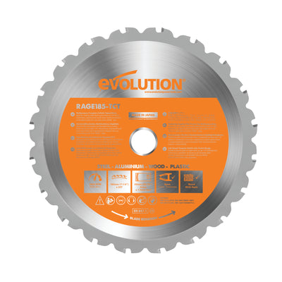 "Evolution 7-1/4"" Multi-Purpose Cutting Blade"
