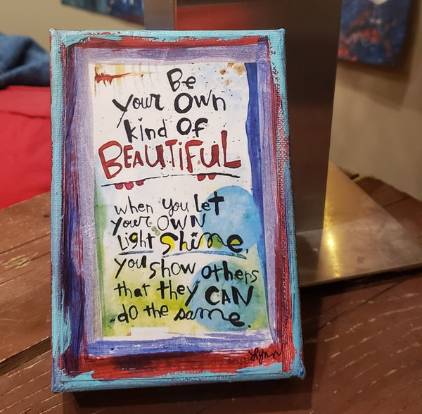 OWN kind of BEAUTIFUL Canvas