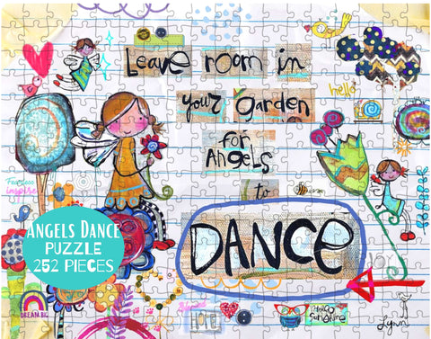 Puzzle New! Angels DANCE