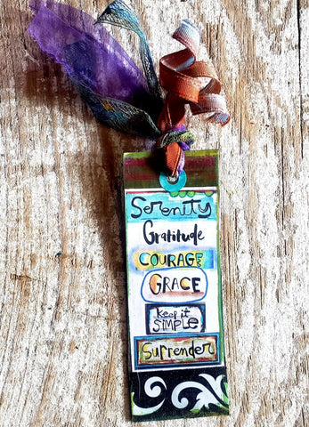 Bookmark Tag SERENITY
