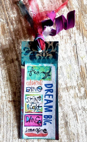 Bookmark Tag DREAM BIG