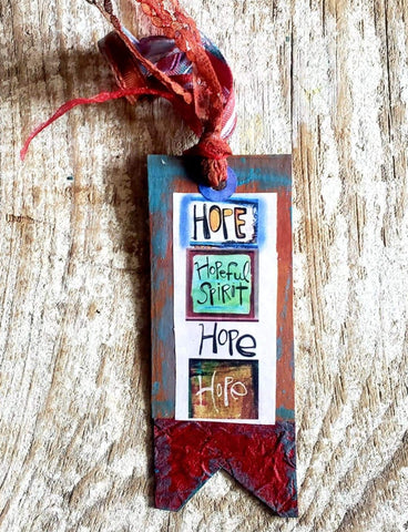 Bookmark Tag- New! HOPE