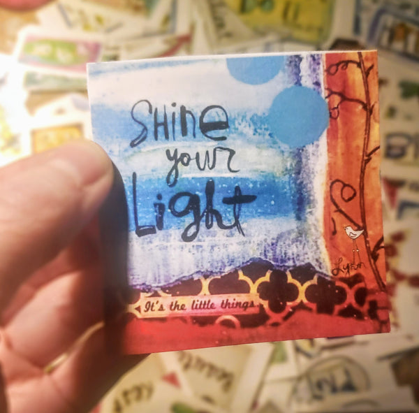Mini Note Pack-Shine