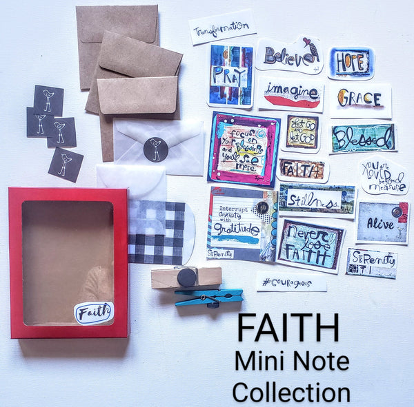 Mini Note Pack-FAITH