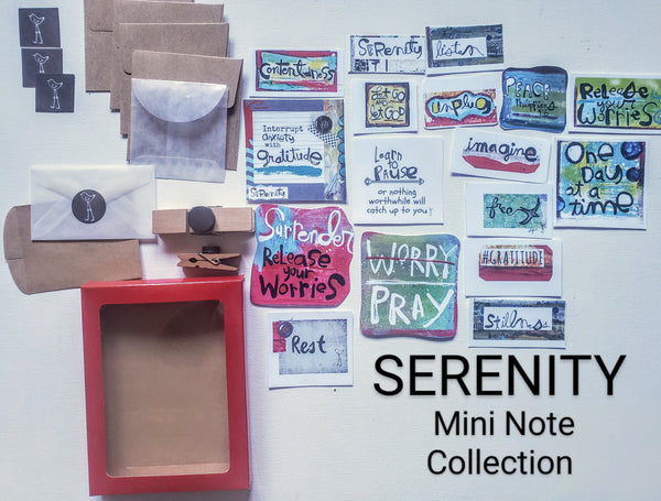 Mini Note Pack-SERENITY