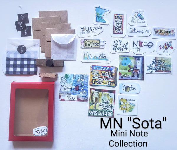 "Mini Note Pack-MN ""Sota"""