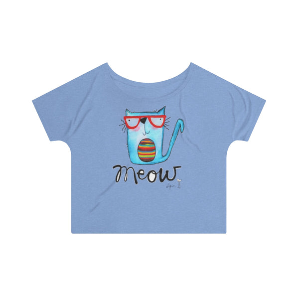 T-Shirt - 3 Cats ago slouchy tee