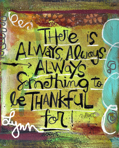 Art Print- Thankful
