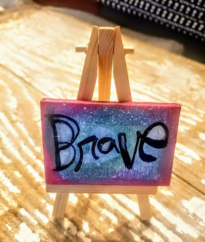 Brave Mini Canvas