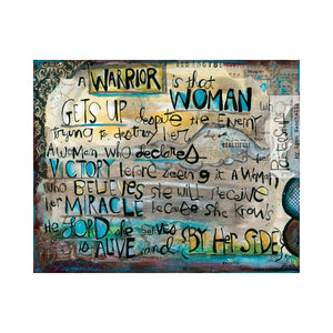 Greeting Card- Warrior Woman