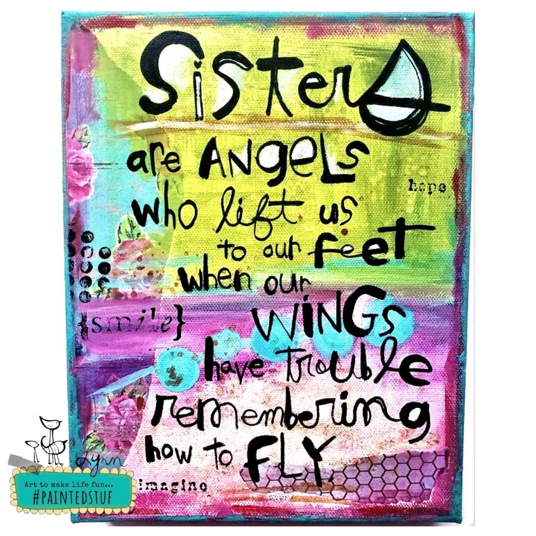 Sisters Angel Wings