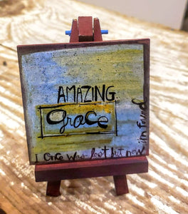 Easel Art -Amazing GRACE