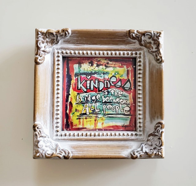Framed Mini Print- Kindness