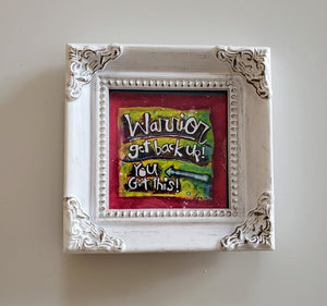 Framed Mini Art-Warrior