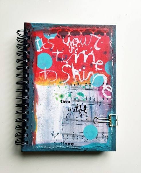 Art Journal- Time to Shine