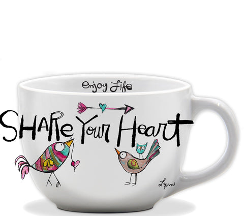 Mug Share your Heart