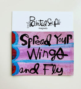 Fridge Magnet-Wings