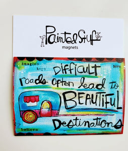 Fridge Magnet-Beautiful Destinations