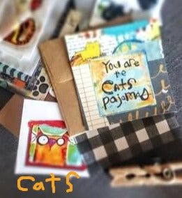 Mini Note Pack CATS